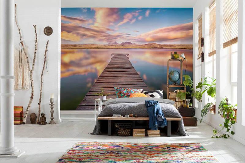 Germany digital printing mural wallhub for Digital wall mural