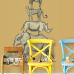 Wallhub Wallpaper Singapore - Animal Stacker 01