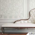 Wallhub Indigo - Classic Paisley Wallpaper 00