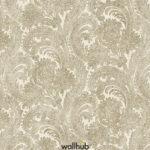 Wallhub Indigo - Classic Paisley Wallpaper 05