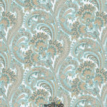 Wallhub Indigo - Classic Paisley Wallpaper 06