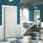 Wallhub Indigo - Oriental Ornament Wallpaper 03