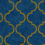 Wallhub Indigo - Oriental Ornament Wallpaper 08