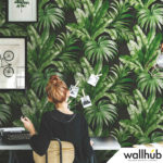 Wallhub Indigo - Palm Tropics Wallpaper 00