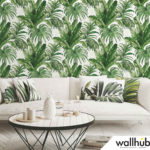 Wallhub Indigo - Palm Tropics Wallpaper 01