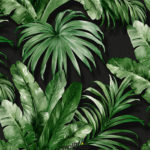 Wallhub Indigo - Palm Tropics Wallpaper 04