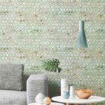 Wallhub Indigo - Pearl Elegance Wallpaper 00