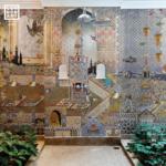 Londonart Italian Wallpaper   Mondrian Doha 15MW