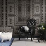 Londonart Italian Wallpaper   Vienna 02MW