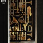 Londonart Italian Wallpaper   Donald trumpet 13TP