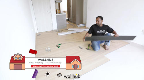 Wallhub Luxury Vinyl Flooring Singapore - NOC
